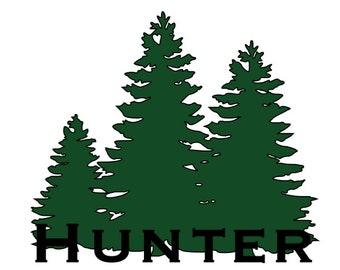 Pine Tree Yeti Decal