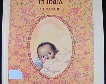 If You'd Been Born in India // 1973 Hardback // Children's Book about India //  ISBN 0807535397