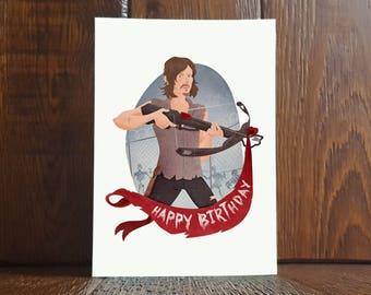 Daryl Dixon Birthday Card