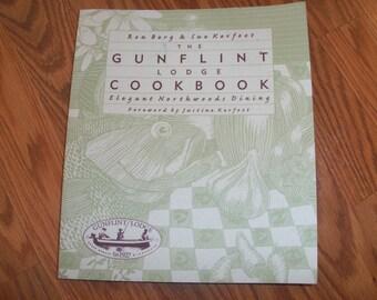 Vintage Gunflint Lodge Cookbook Northwoods Cooking Kitchen Chef