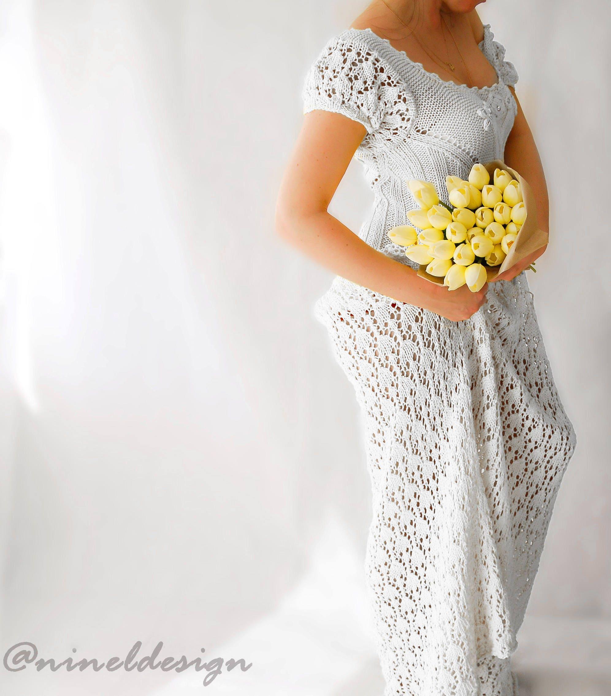 KNITTING PATTERN. Knit Dress. Knitting patterns for women. Crochet ...