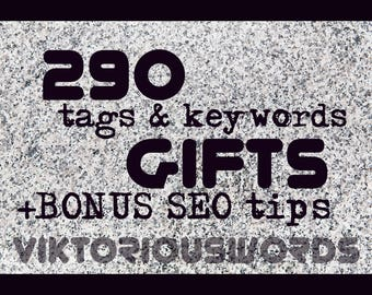 SEO Gifts SEO Keywords Gifts Tags Popular Keyword Optimization Titles Product Tags Marketing Search Results Instagram Hashtag Copywriting