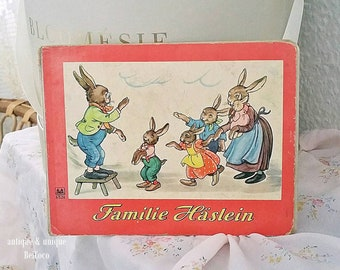 Charming antique children's book, Picture book