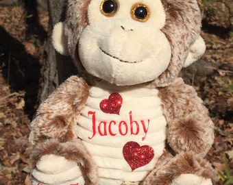 Personalized Stuffed Animal with Name & Date