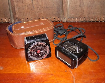 GE Model 8DW58Y4 Exposure Meter circa 1945