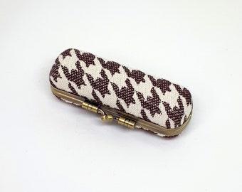 Case - babywearing woven wrap - box, hard case - Dahlia wrap, Simone Bordeaux