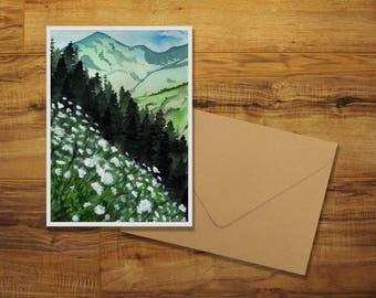 Cascadian Summer Greeting Card