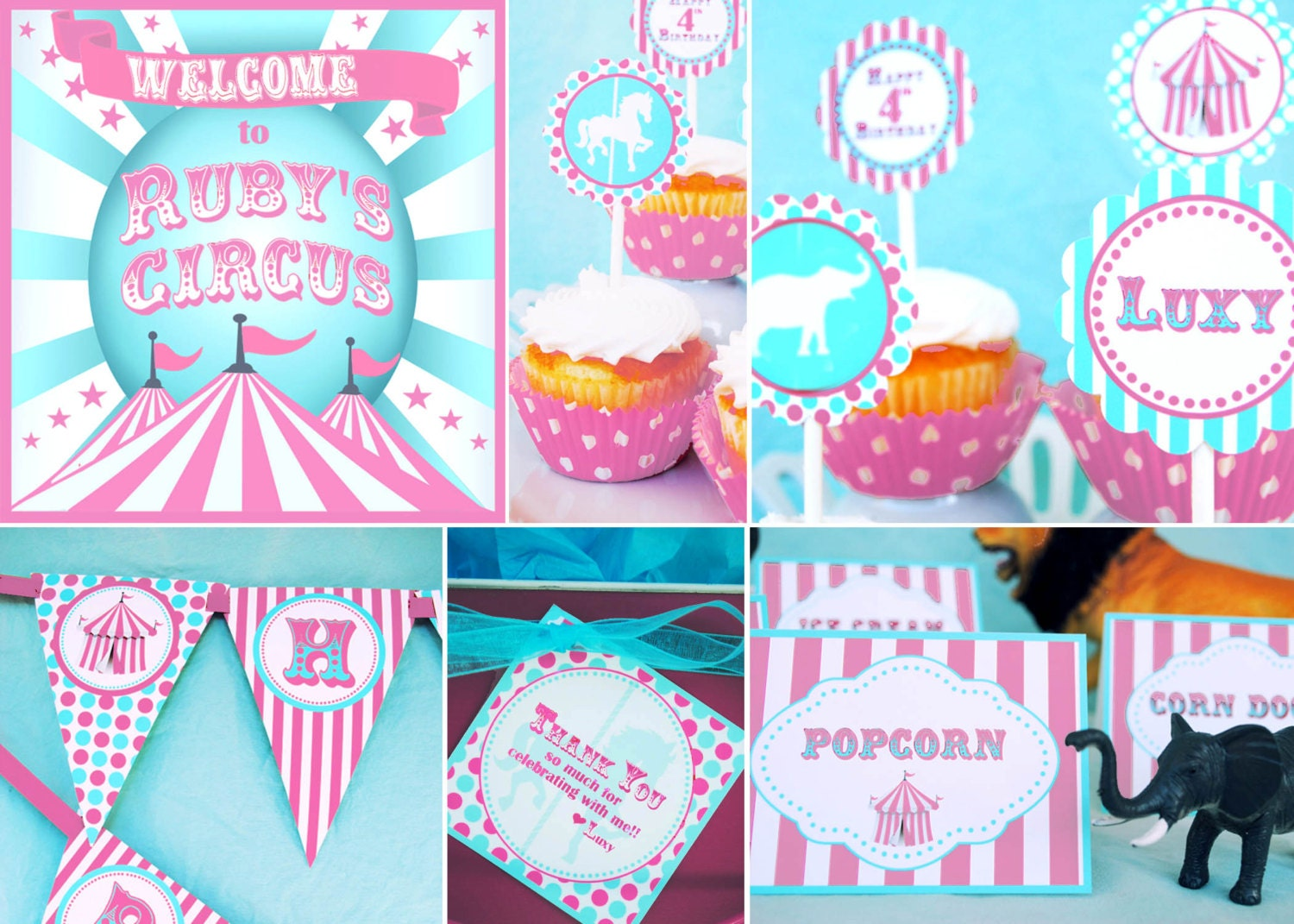 him themes her circus with in party decorations birthday ideas large size for of best decor conjunction