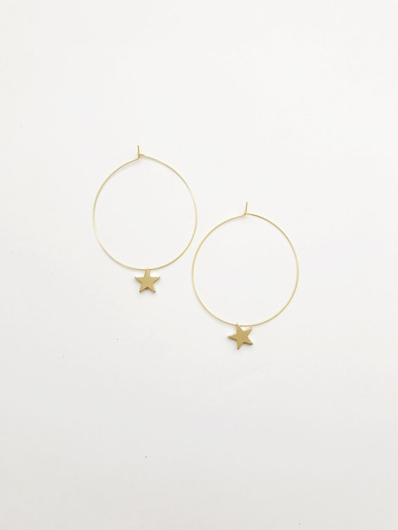 Simple Star Hoops