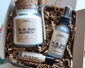 Be At Ease Spa Gift Box - Mother's Day Gifts - Gifts for Mom, Gifts for Women, Gifts for Teachers