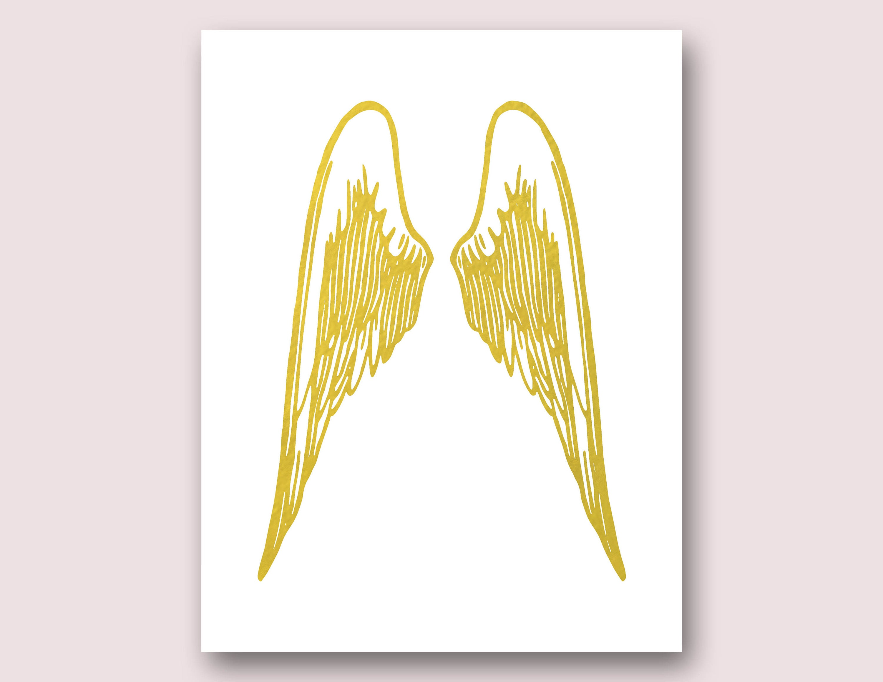 Amazing Angel Wings Heart Wall Decor Gallery - The Wall Art ...