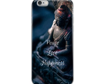 Peace, Love, Happiness - iPhone Case