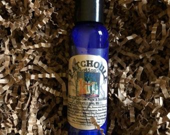 Patchouli 2 oz Skin Love, light skin moisturizer