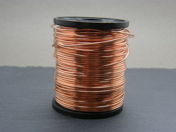 Copper wire ~ 0.8mm gauge bare copper wire ~ Antique Copper ...