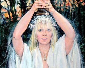 Winter Goddess Fairy