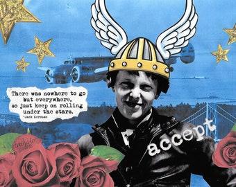 Keep on Rolling - Amelia Earhart
