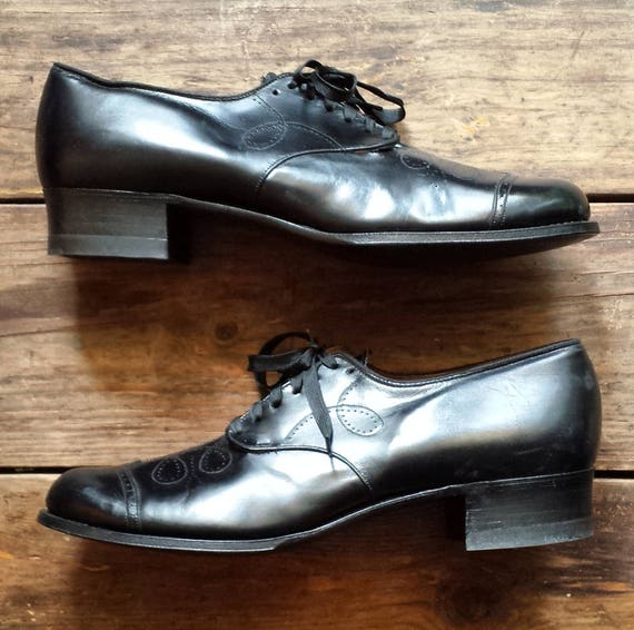 all Shoes 1930's leather Women's size slim worn oxford never 1930's as condition 9 Wilbur pumps Coon AA new black 8RtqIwSx