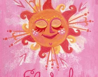 El Sol, Spaniard Sun. From the sunshine series by Neysa Bové