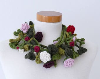 Delicate Roses Scarf