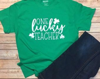 One Lucky Teacher T-shirt