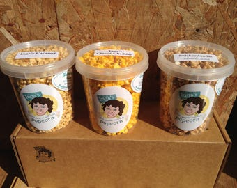 Inga's Classic Popcorn Trio