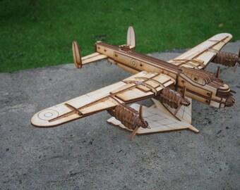 Avro Lancaster Plane Model Kit