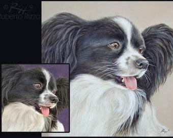 Pet Portrait Original Art | Custom Dog Paintings