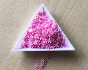 sequin flower pink orchid 5 mm in bulk