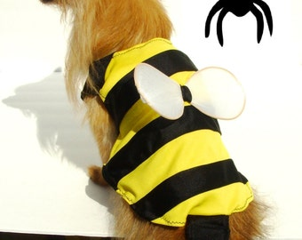 """DOG COSTUME. """"bumble bee"""" Dog Costume, Halloween For Pets,"""