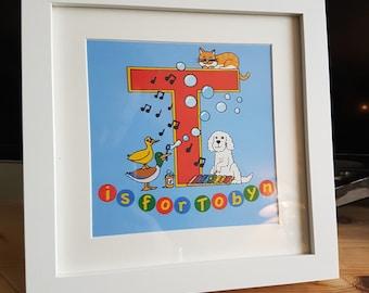 Personalised Children's Art Print