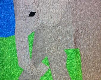 Quilt Baby Elephant
