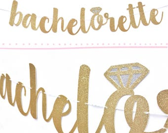 Bachelorette Sign | Bachelorette Banner | Bachelorette Party Decorations | Bachelorette Decor | Bachelorette Decorations | Bridal Shower