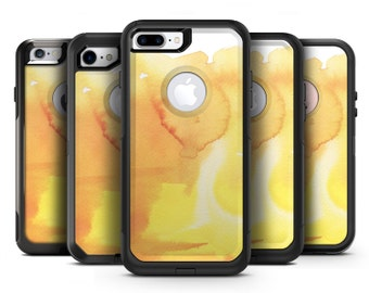 Yellow 53 Absorbed Watercolor Texture - OtterBox Case Skin-Kit for the iPhone, Galaxy & More