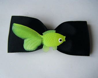 Barrette fish yellow ♥ ♥