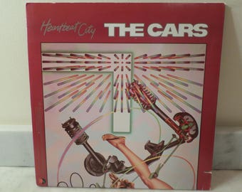 Vintage 1984 LP Record The Cars Heartbeat City Excellent Condition 14306