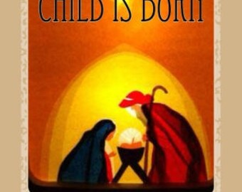 AUTOGRAPHED COPY! Unto Us a Child is Born: An Advent Devotional