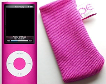 iPod nano sock (latest version 4th generation) pink
