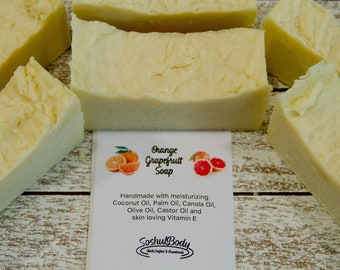 Orange Grapefruit Soap