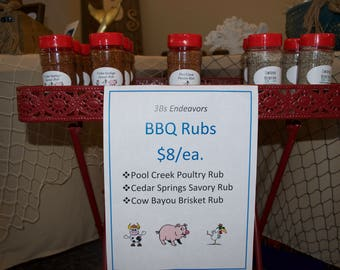 BBQ Rubs