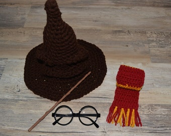 Harry Potter Inspired Baby Photo Prop