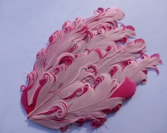 Pink on pink feather pad