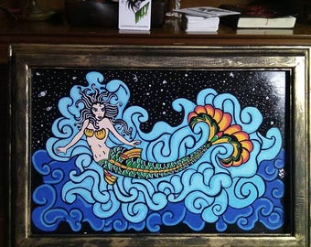 Mermaid Queen Frame