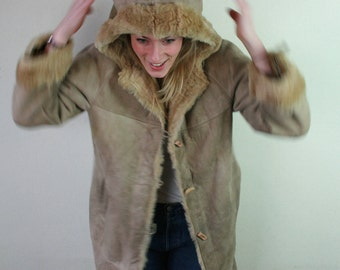 Dreamy Vintage Lammy coat