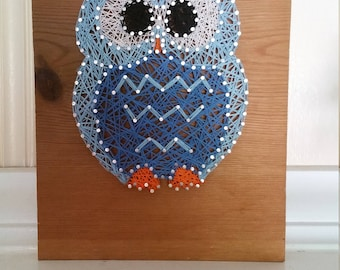 String Art Owl MADE TO ORDER