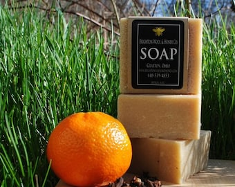 Orange Clove Shaving Soap