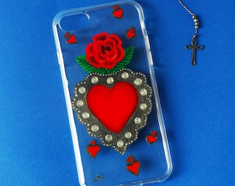 Phone case sagrado corazón/ phone case sacred heart