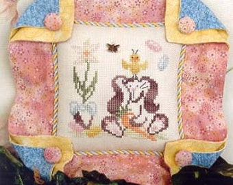 Brittercup Designs Britty Bunny Counted Cross Stitch Pattern