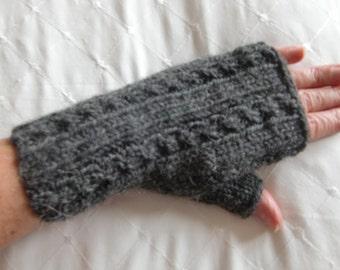 Nedha Fingerless Gloves PDF Knitting Pattern