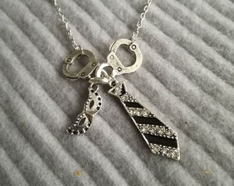 Necklace 50 shades of grey