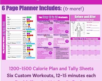 diet plan calendar